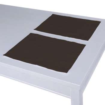 Stalo servetėlės/stalo padėkliukai – 2 vnt. 30 x 40 cm kolekcijoje Cotton Panama, audinys: 702-03