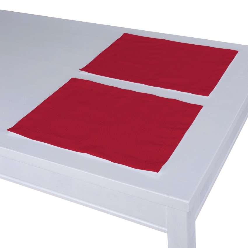 Stalo servetėlės/stalo padėkliukai – 2 vnt. 30 x 40 cm kolekcijoje Cotton Panama, audinys: 702-04