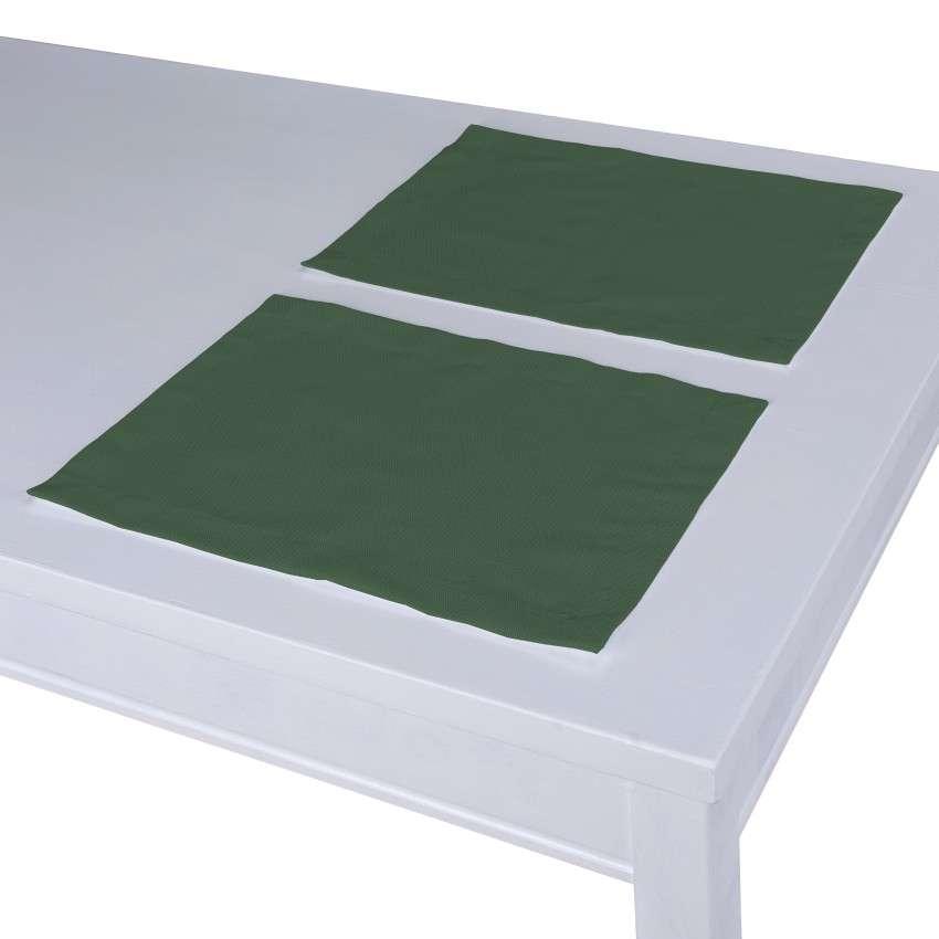 Podkładka 2 sztuki 30x40 cm w kolekcji Cotton Panama, tkanina: 702-06