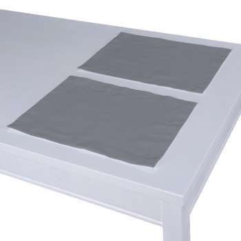 Podkładka 2 sztuki 30x40 cm w kolekcji Cotton Panama, tkanina: 702-07