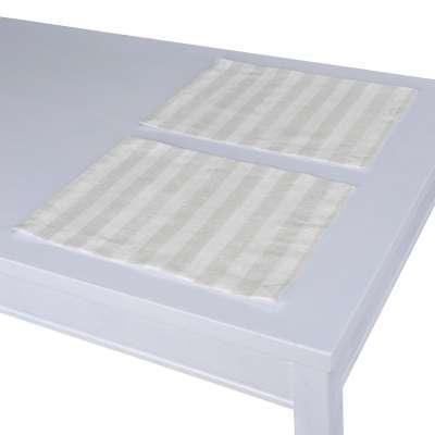 Podkładka 2 sztuki w kolekcji Linen, tkanina: 392-03