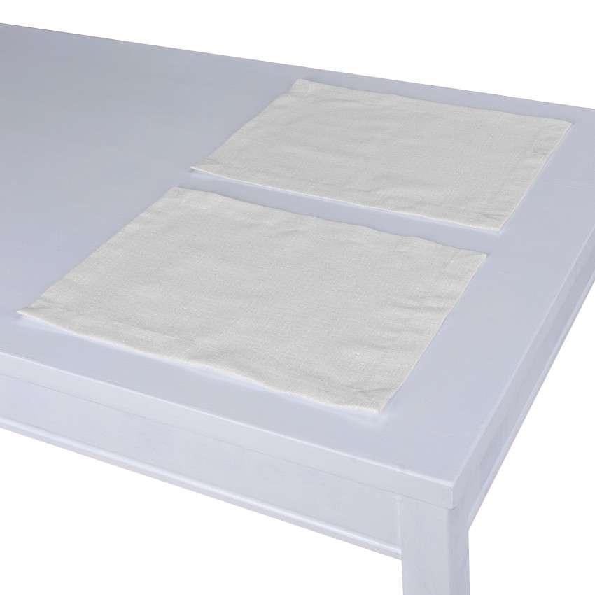 Podkładka 2 sztuki 30x40 cm w kolekcji Linen, tkanina: 392-04