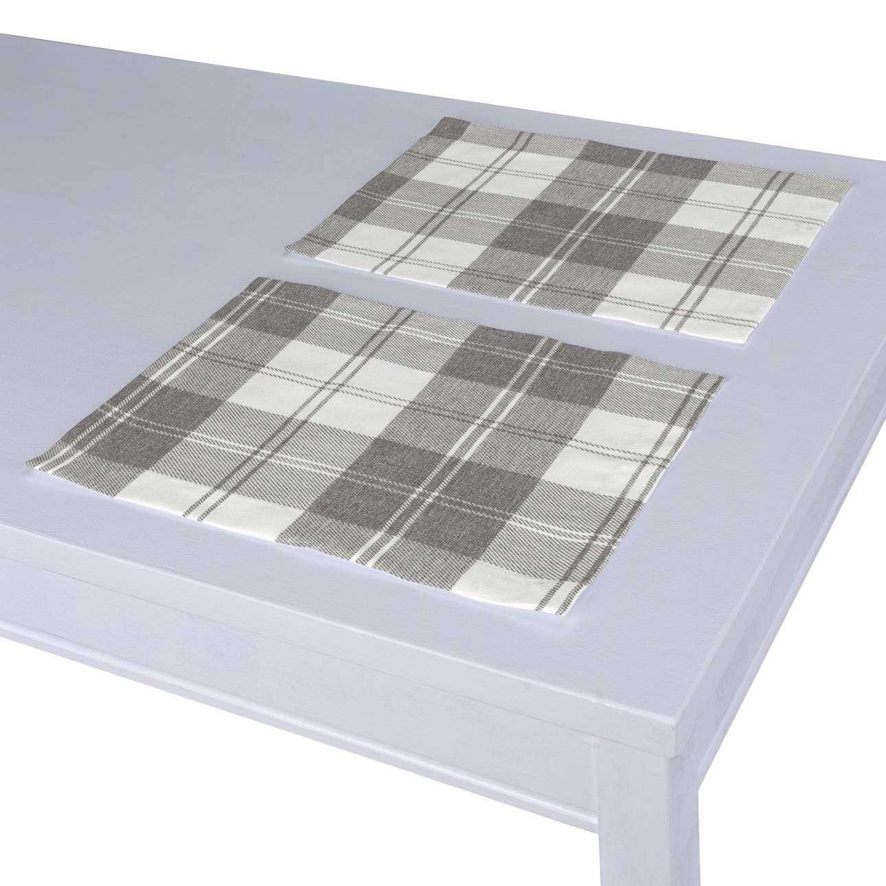 Stalo servetėlės/stalo padėkliukai – 2 vnt. 30 x 40 cm kolekcijoje Edinburgh , audinys: 115-79