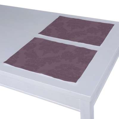 Placemat (set of 2) 613-75 purple Collection Damasco