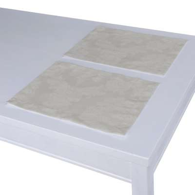 Stalo servetėlės/stalo padėkliukai – 2 vnt. 613-81 pilka Kolekcija Damasco