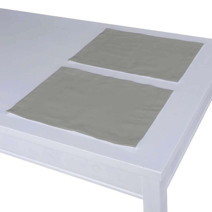 Podkładka 2 sztuki w kolekcji Loneta, tkanina: 133-24