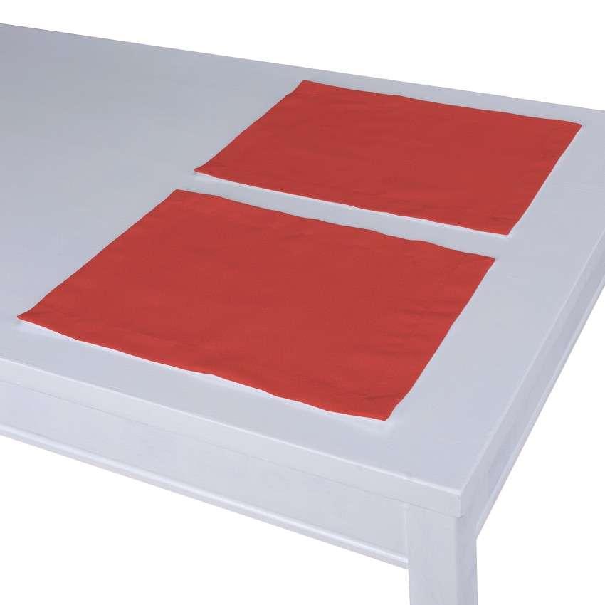 Stalo servetėlės/stalo padėkliukai – 2 vnt. 30 x 40 cm kolekcijoje Loneta , audinys: 133-43