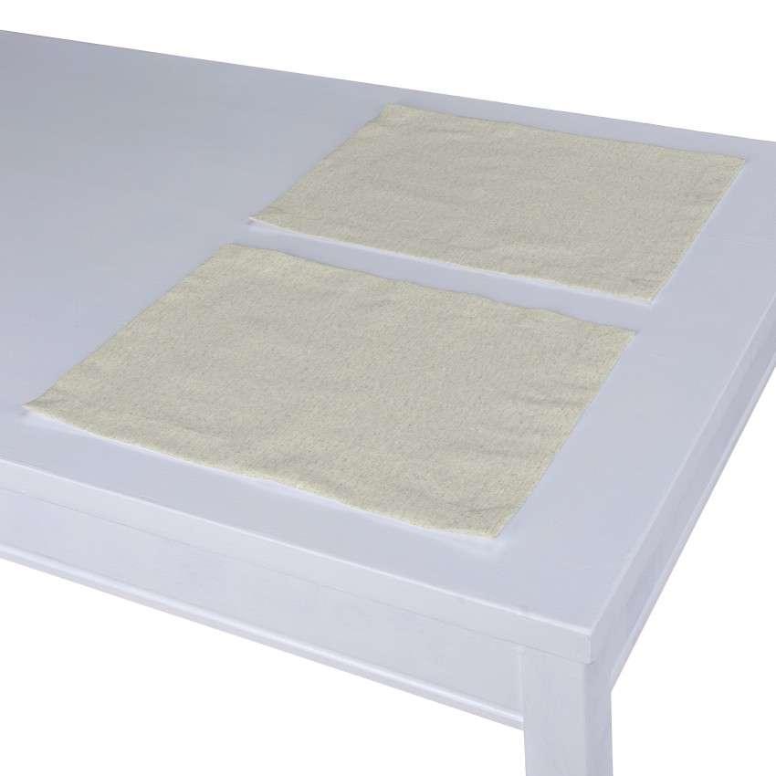 Stalo servetėlės/stalo padėkliukai – 2 vnt. 30 × 40 cm kolekcijoje Loneta , audinys: 133-65
