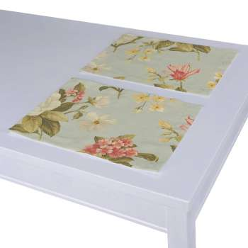 Placemat (set of 2) 30 × 40 cm (12 x16 inch) in collection Londres, fabric: 123-65