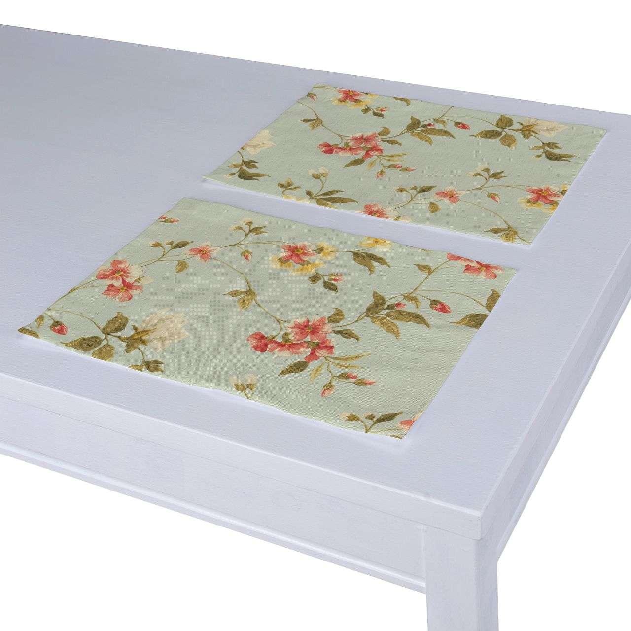 Tischset 2 Stck. 30 x 40 cm von der Kollektion Londres, Stoff: 124-65