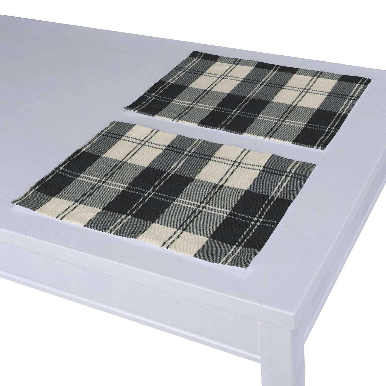 Podkładka 2 sztuki 30x40 cm w kolekcji Edinburgh, tkanina: 115-74