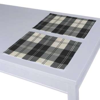 Podkładka 2 sztuki w kolekcji Edinburgh, tkanina: 115-74