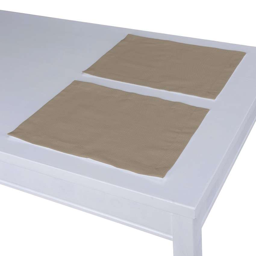 Podkładka 2 sztuki w kolekcji Cotton Panama, tkanina: 702-28
