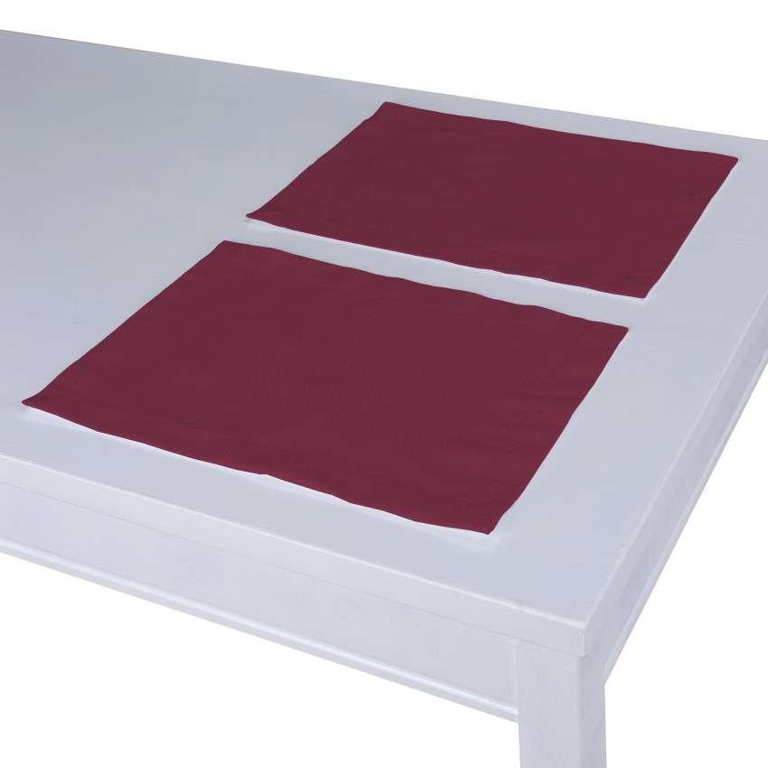 Podkładka 2 sztuki 30x40 cm w kolekcji Cotton Panama, tkanina: 702-32