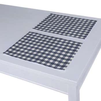Stalo servetėlės/stalo padėkliukai – 2 vnt. 30 x 40 cm kolekcijoje Quadro, audinys: 136-01