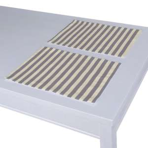 Tischset 2 Stck. 30 x 40 cm von der Kollektion Quadro, Stoff: 136-02