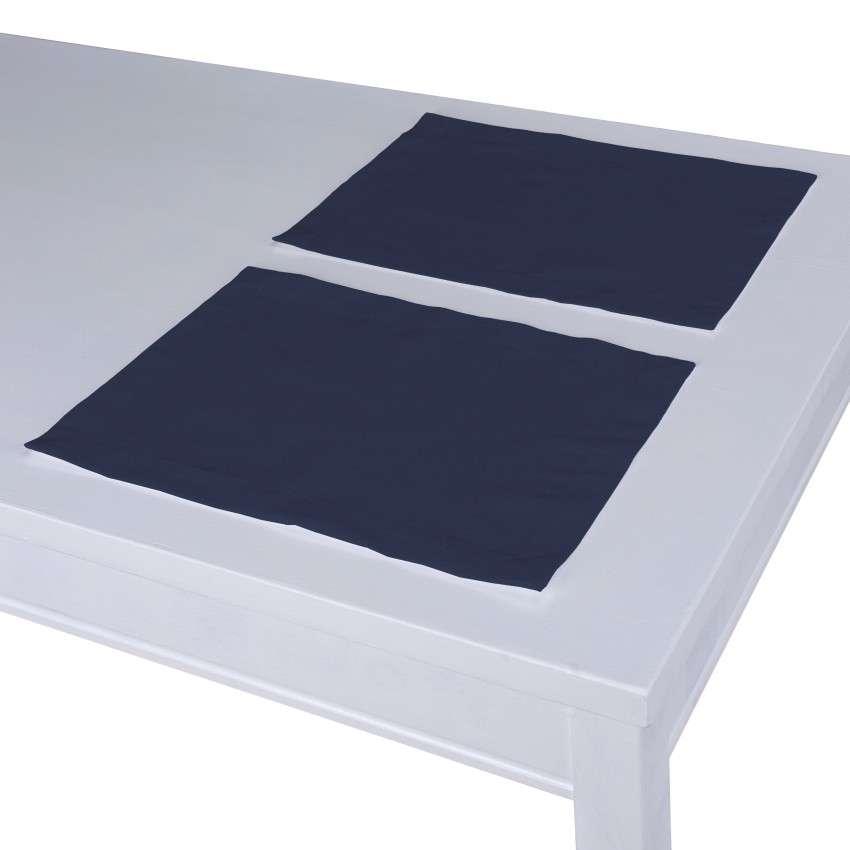Stalo servetėlės/stalo padėkliukai – 2 vnt. 30 x 40 cm kolekcijoje Quadro, audinys: 136-04