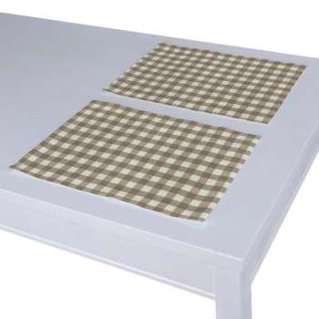 Stalo servetėlės/stalo padėkliukai – 2 vnt. 30 x 40 cm kolekcijoje Quadro, audinys: 136-06
