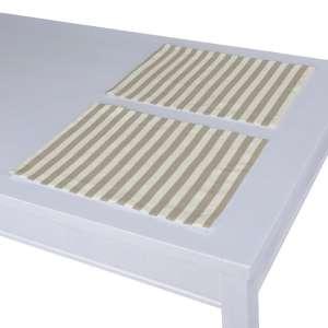 Stalo servetėlės/stalo padėkliukai – 2 vnt. 30 x 40 cm kolekcijoje Quadro, audinys: 136-07