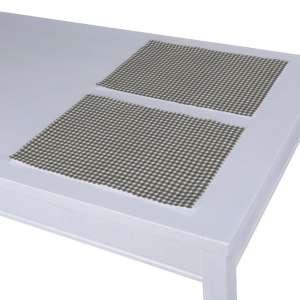 Tischset 2 Stck. 30 x 40 cm von der Kollektion Quadro, Stoff: 136-10