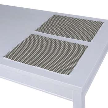 Stalo servetėlės/stalo padėkliukai – 2 vnt. 30 x 40 cm kolekcijoje Quadro, audinys: 136-10