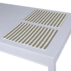 Tischset 2 Stck. 30 x 40 cm von der Kollektion Quadro, Stoff: 136-12