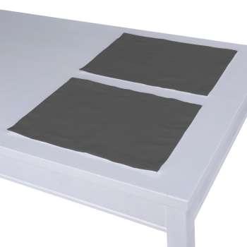 Podkładka 2 sztuki 30x40 cm w kolekcji Quadro, tkanina: 136-14
