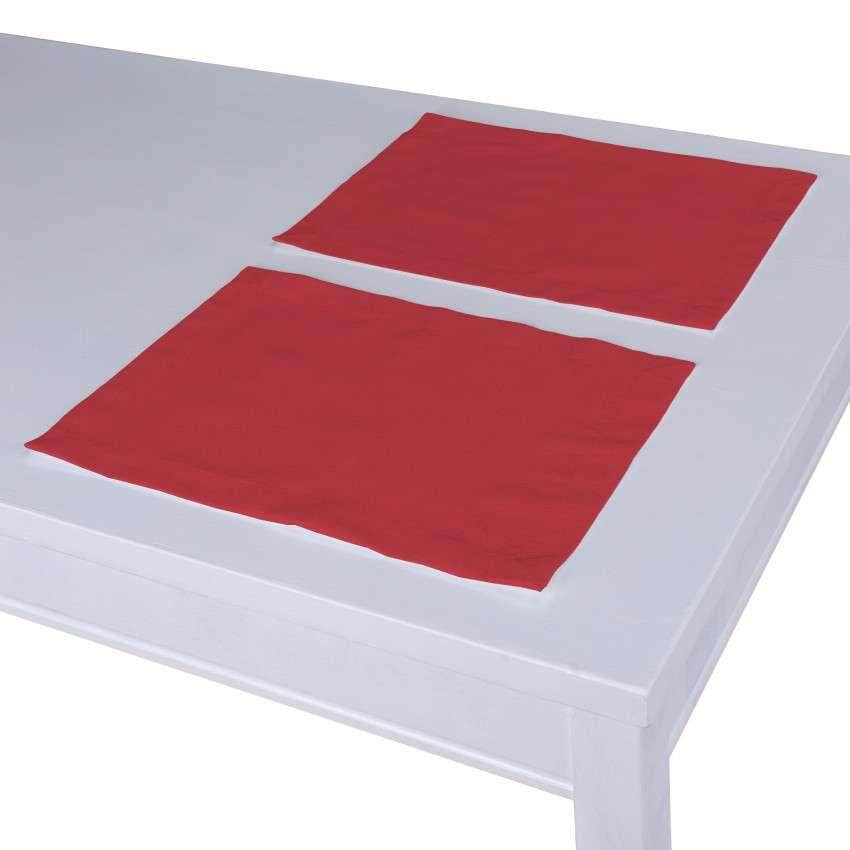Stalo servetėlės/stalo padėkliukai – 2 vnt. 30 x 40 cm kolekcijoje Quadro, audinys: 136-19