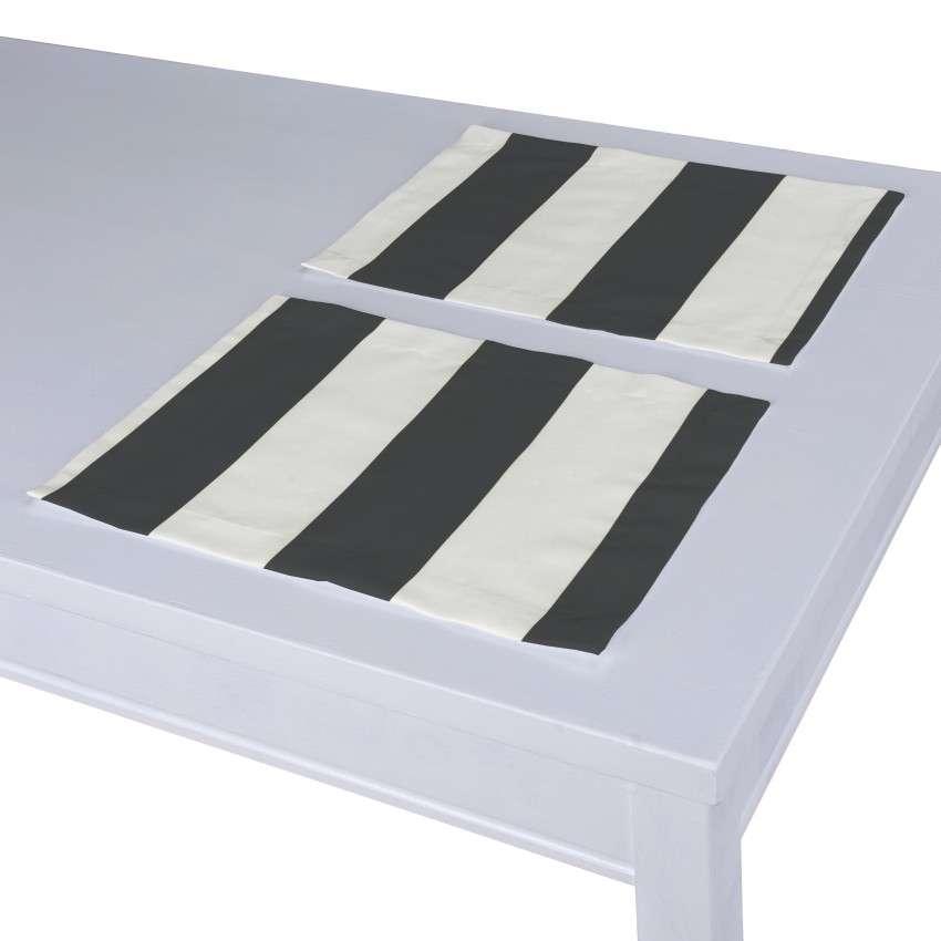 Stalo servetėlės/stalo padėkliukai – 2 vnt. 30 x 40 cm kolekcijoje Comics Prints, audinys: 137-53