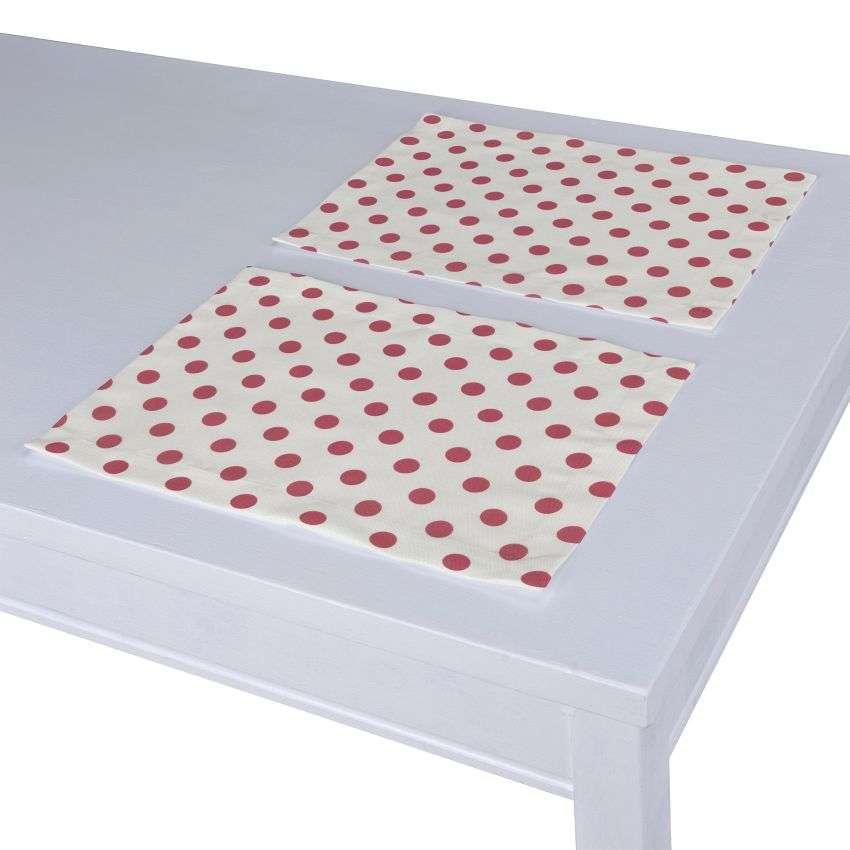 Stalo servetėlės/stalo padėkliukai – 2 vnt. 30 x 40 cm kolekcijoje Ashley , audinys: 137-70