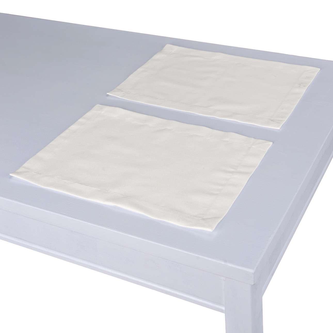 Podkładka 2 sztuki 30x40 cm w kolekcji Cotton Panama, tkanina: 702-34