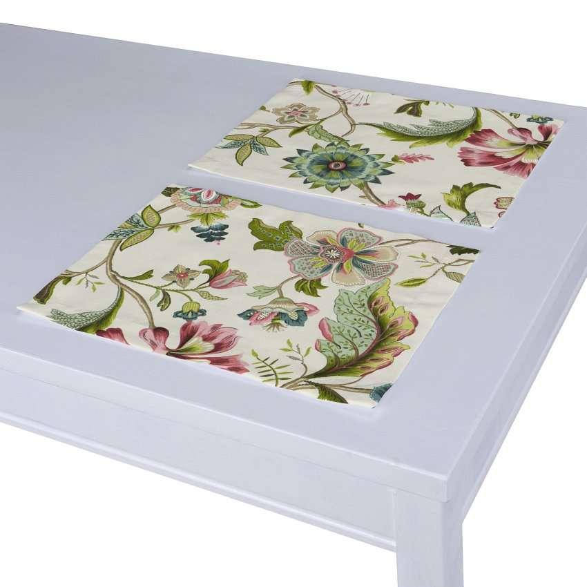 Podkładka 2 sztuki 30x40 cm w kolekcji Londres, tkanina: 122-00