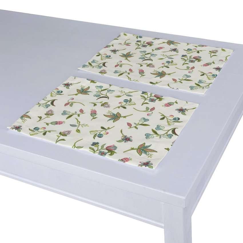 Stalo servetėlės/stalo padėkliukai – 2 vnt. 30 x 40 cm kolekcijoje Londres, audinys: 122-02
