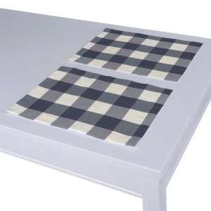 Stalo servetėlės/stalo padėkliukai – 2 vnt. 30 x 40 cm kolekcijoje Quadro, audinys: 136-03