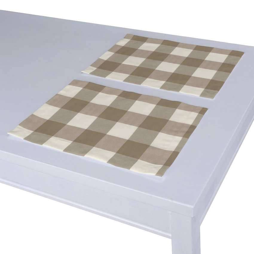 Tischset 2 Stck. 30 x 40 cm von der Kollektion Quadro, Stoff: 136-08