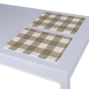 Stalo servetėlės/stalo padėkliukai – 2 vnt. 30 x 40 cm kolekcijoje Quadro, audinys: 136-08