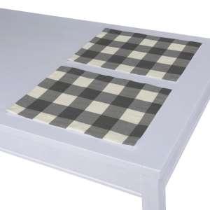 Podkładka 2 sztuki 30x40 cm w kolekcji Quadro, tkanina: 136-13