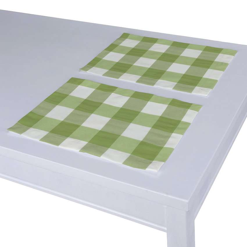 Placemat (set of 2) 30 x 40 cm (12 x16 inch) in collection Quadro, fabric: 136-36
