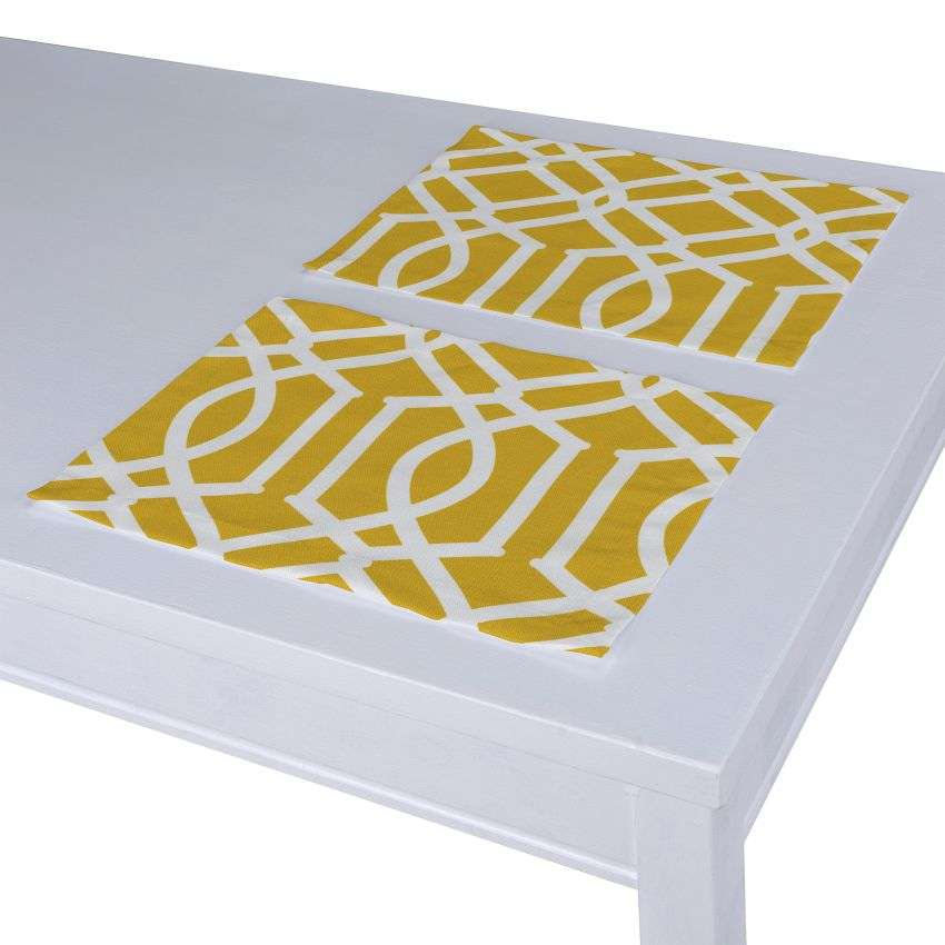 Stalo servetėlės/stalo padėkliukai – 2 vnt. 30 x 40 cm kolekcijoje Comics Prints, audinys: 135-09