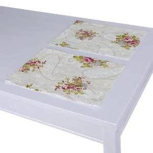 Podkładka 2 sztuki 30x40 cm w kolekcji Flowers, tkanina: 311-15