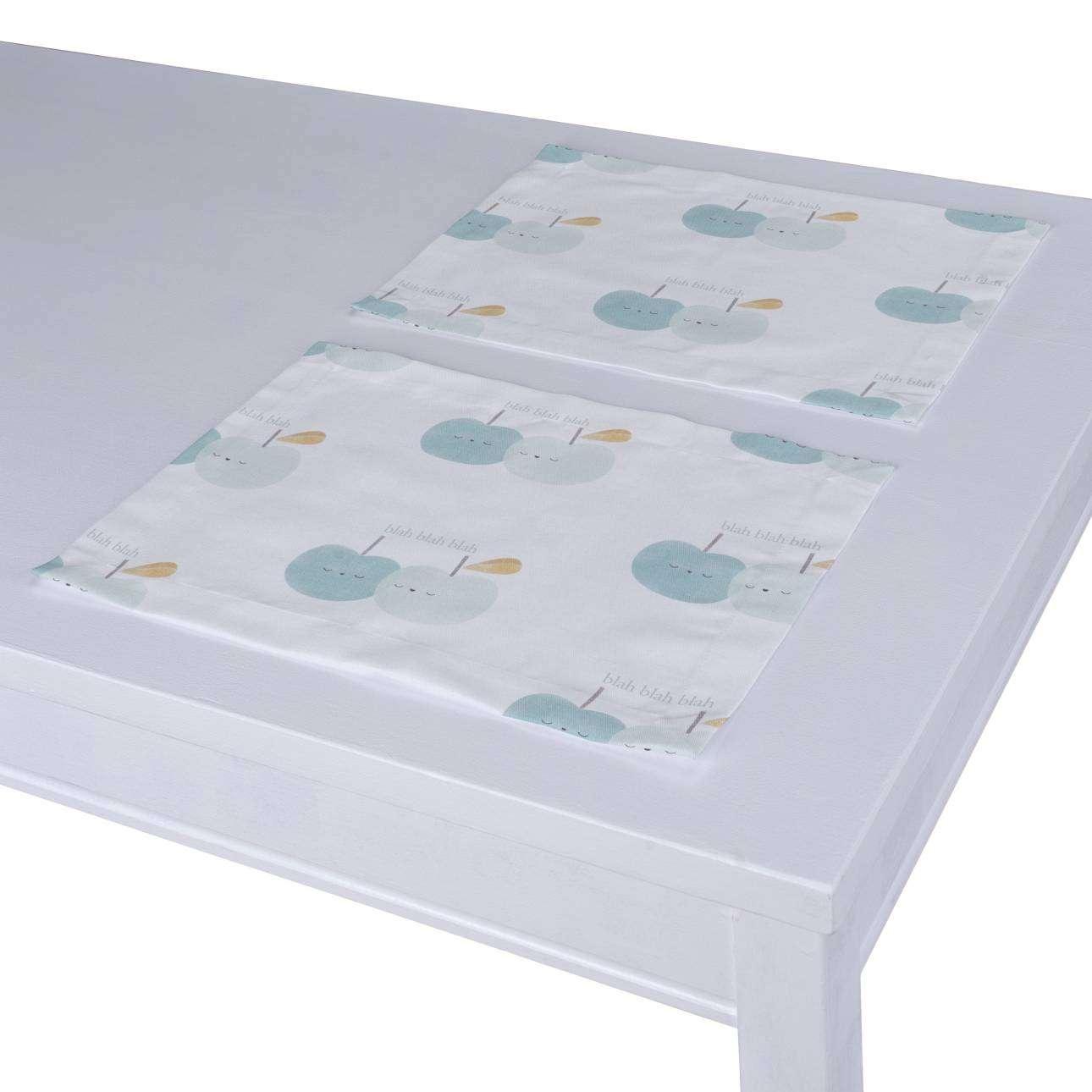 Stalo servetėlės/stalo padėkliukai – 2 vnt. 30 x 40 cm kolekcijoje Apanona, audinys: 151-02