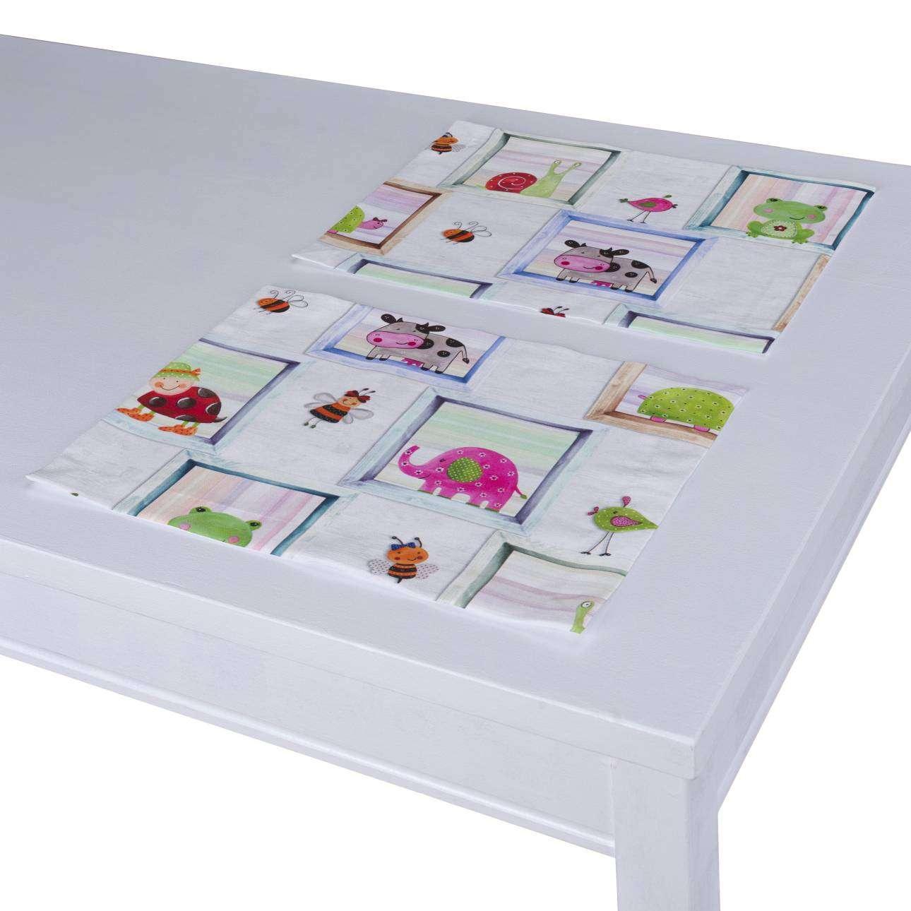 Stalo servetėlės/stalo padėkliukai – 2 vnt. 30 x 40 cm kolekcijoje Apanona, audinys: 151-04