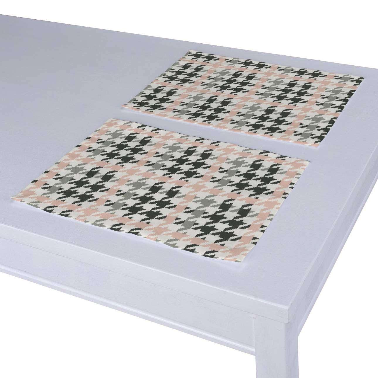 Stalo servetėlės/stalo padėkliukai – 2 vnt. 30 x 40 cm kolekcijoje Brooklyn, audinys: 137-75