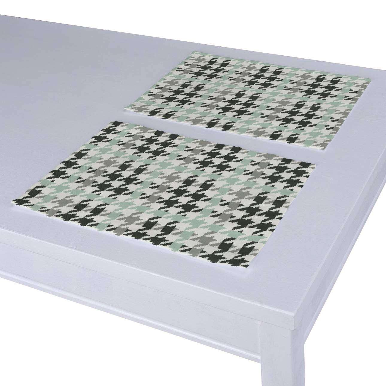 Stalo servetėlės/stalo padėkliukai – 2 vnt. 30 x 40 cm kolekcijoje Brooklyn, audinys: 137-77