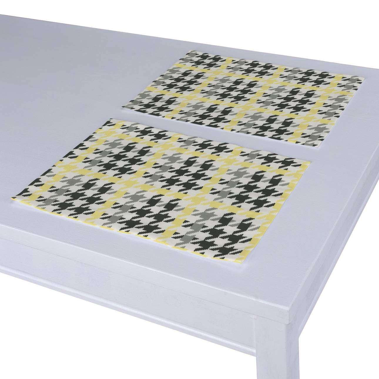 Tischset 2 Stck. 30 x 40 cm von der Kollektion Brooklyn, Stoff: 137-79