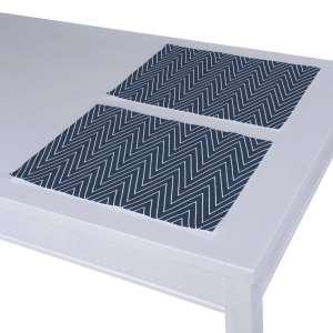 Stalo servetėlės/stalo padėkliukai – 2 vnt. 30 x 40 cm kolekcijoje Brooklyn, audinys: 137-88