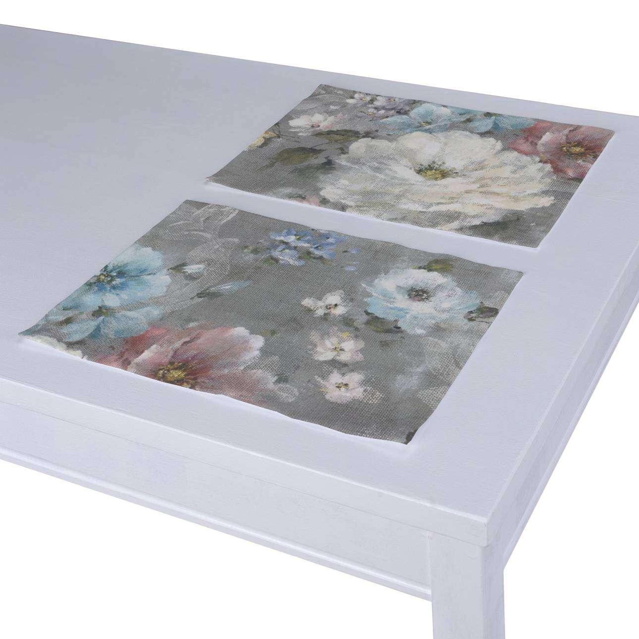 Stalo servetėlės/stalo padėkliukai – 2 vnt. 30 × 40 cm kolekcijoje Monet, audinys: 137-81