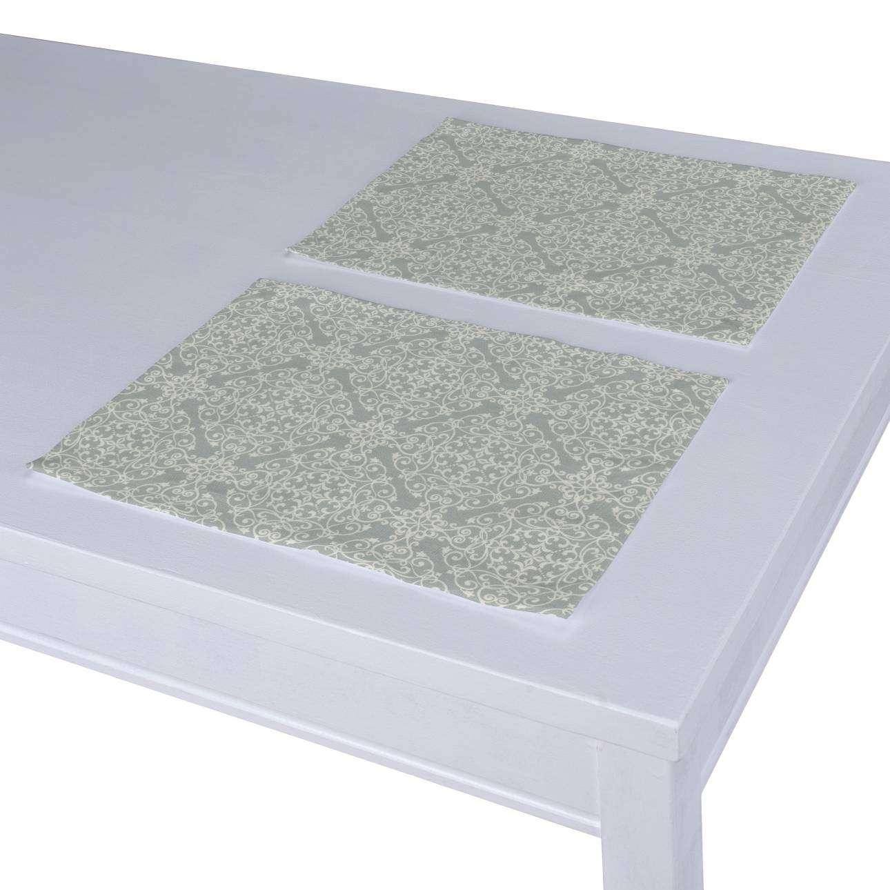 Stalo servetėlės/stalo padėkliukai – 2 vnt. 30 x 40 cm kolekcijoje Flowers, audinys: 140-38