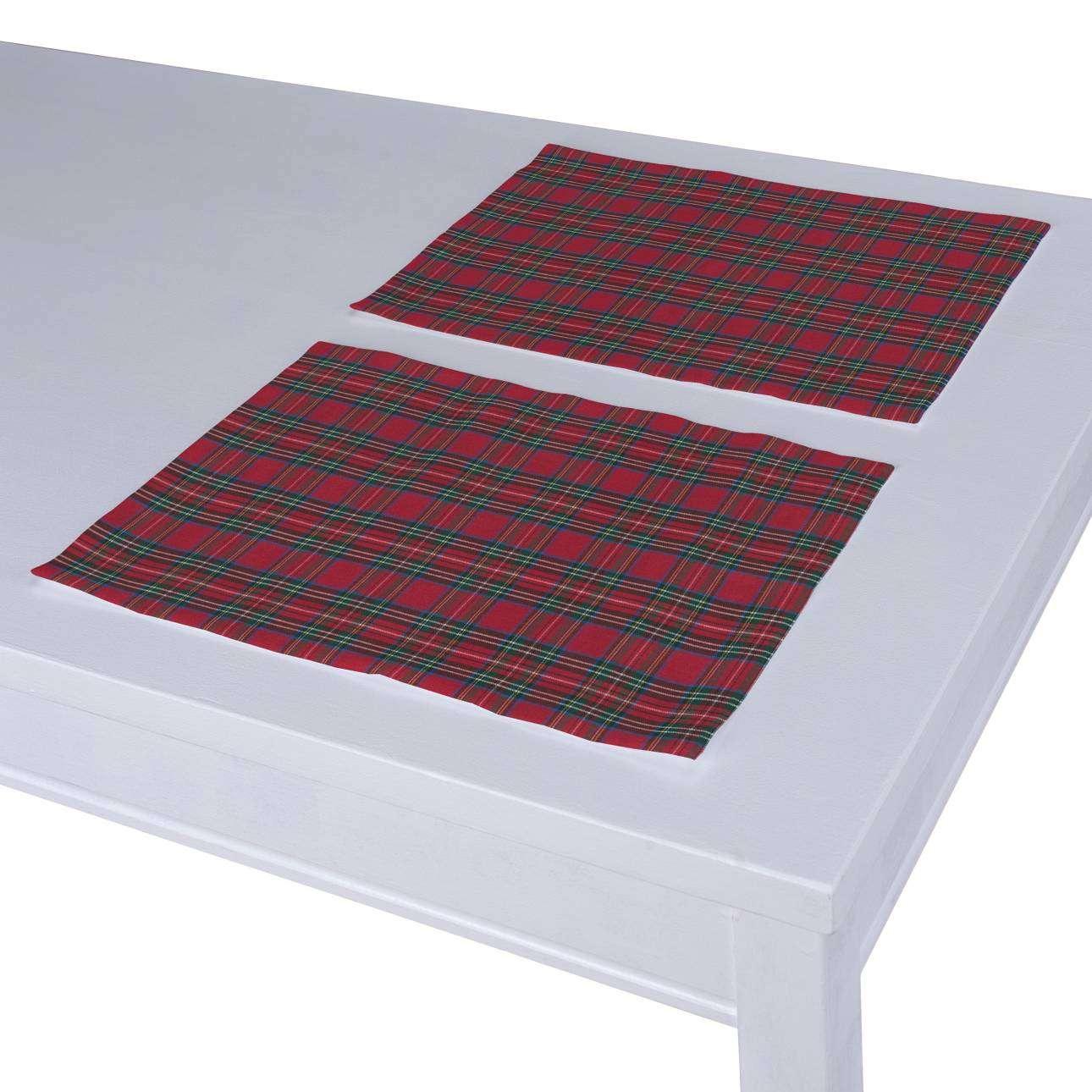 Stalo servetėlės/stalo padėkliukai – 2 vnt. 30 x 40 cm kolekcijoje Bristol, audinys: 126-29