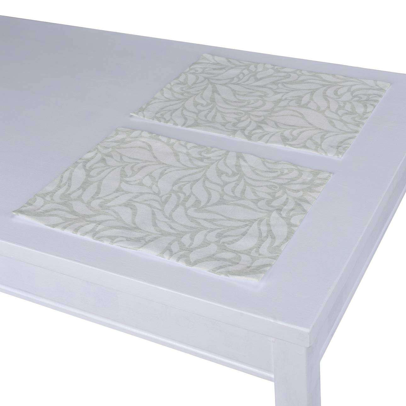 Stalo servetėlės/stalo padėkliukai – 2 vnt. 30 x 40 cm kolekcijoje Venice, audinys: 140-50